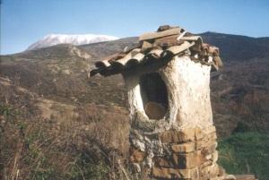 Pardinella. San Antón antiguo. A la salida