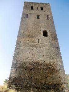 Lado norte de la torre