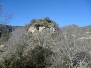 Cerro donde debió estar el castillo