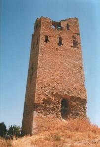La torre antes de la restauración