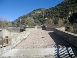 Calzada del puente en 2012