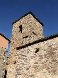 San Esteban. campanario y muro sur