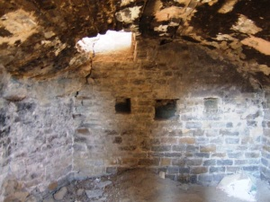 Cripta. Muro oeste