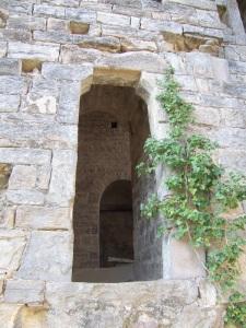 Puerta en muro norte