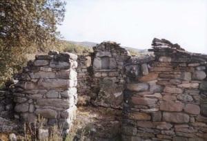 Los restos en 2001