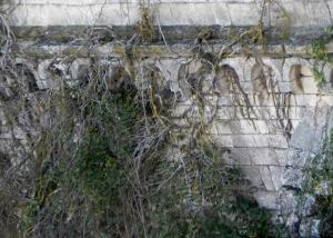 Muro norte. Detalle