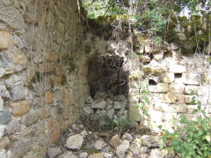 Muro oeste. Interior