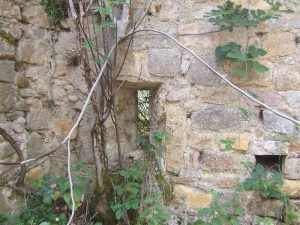 Ventana en muro sur
