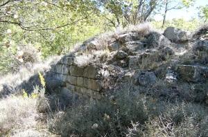 Muro oeste desde el sur