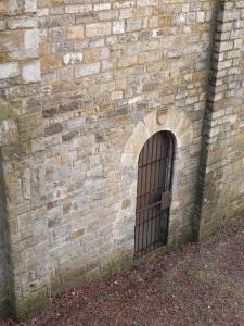 Portada renacentista en el muro norte