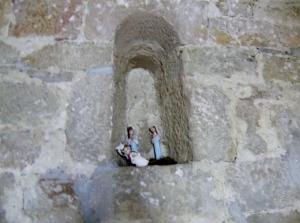 Ventana en el muro oeste