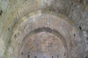 Interior. Detalle de la bóveda