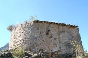 Cabecera y muro norte