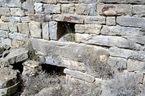 Muro norte. Posible tumba