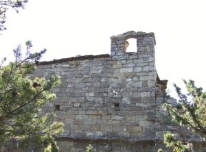 Virgen del Tozal.Muro sur.Campanario