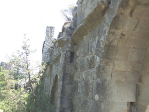 Muro sur. Interior