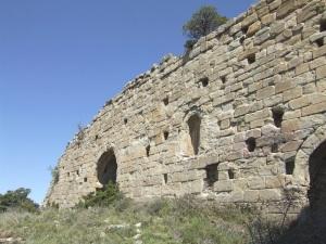 Muro sur. Exterior