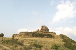Emplazamiento del castillo