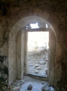 Puerta norte. Interior