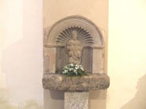 Imagen de San Pedro, procedente de Castarlenas