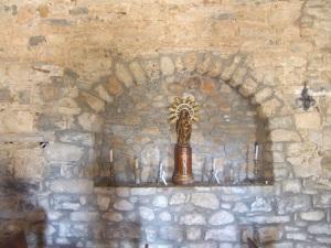 San Saturnino.Hornacina