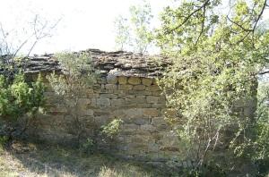 Muro norte. Exterior