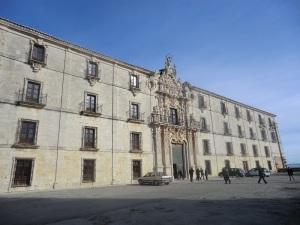Monasterio de Uclés. Fachada principal