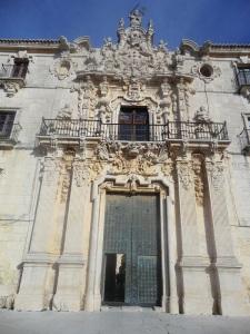 Monasterio de Uclés. Fachada principal. Portada