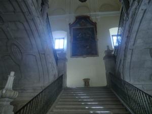 Monasterio de Uclés. Escalera