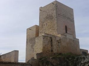 Restos del castillo de Uclés