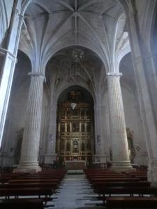 Iglesia de Santiago. Nave central