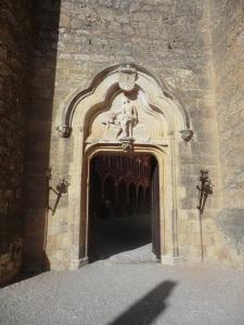 Castillo de Belmonte. Puerta de accceso