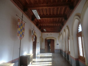 Castillo de Belmonte. Primera planta