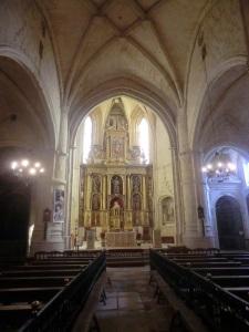 San Bartolomé. Nave central