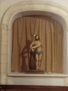 San Bartolomé. F. Salcillo: Cristo en la columna.