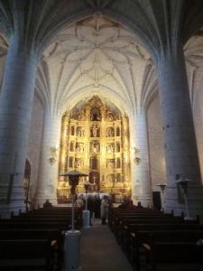 Santa María. Interior