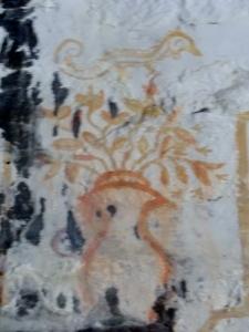Pinturas en muro norte