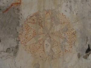 Pinturas en muro sur