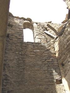 Pórtico-campanario. Interior