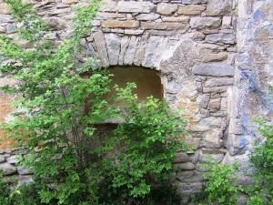 Hornacina en muro norte