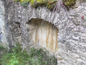 Hornacina en muro sur