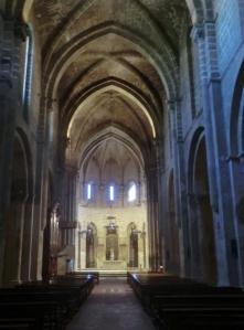 Monasterio de Veruela. Nave central de la iglesia