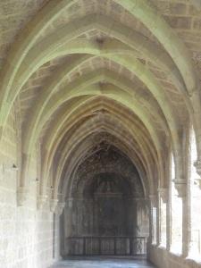173. Monasterio de Piedra. Claustro