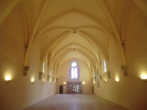 187. Monasterio de Piedra. Refectorio