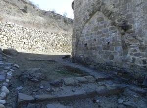 Restos de la capilla norte