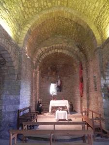 Santa María la Nova. interior