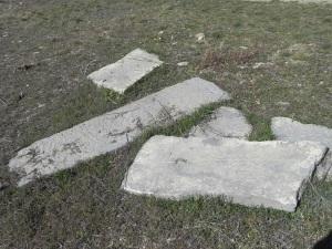 Restos de tumbas