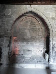 Capilla bajo el coro en muro norte