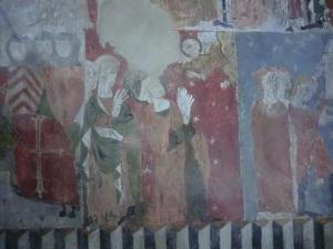 Ntra. Sra. de Baldós. Pinturas muro oeste 10