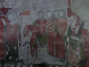 Ntra. Sra. de Baldós. Pinturas muro oeste 9